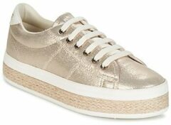 Gouden Sneakers Malibu Sneaker by No Name