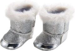 Heless Poppenschoenen Laarzen 38-45 Cm Meisjes Polyester Zilver