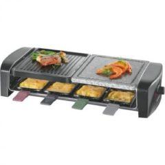 Severin RG 9645 Grill Tafelblad Electrisch 1400W Zwart barbecue