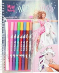 Depesche Miss Melody - Horse Show Colouring Book w/Magic Markers (046049)