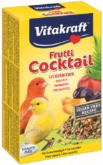 Vitakraft Kanarie Fruit-Cocktail - Vogelsnack - 200 g