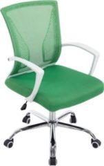 CLP Höhenverstellbarer Bürostuhl TRACY mit Armlehne I Ergonomischer Schreibtischstuhl mit Netzbezug und Polsterung I In verschiedenen Farben erhältlic