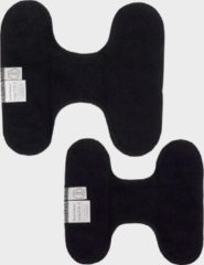 ImseVimse inlegkruisjes wasbaar zonder sluiting - 3 stuks - zwart