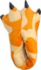 Oranje Student Onesie Dino Sloffen Giraffe - Maat 39-42