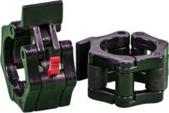 Rode Gorilla Sports Olympische sluitingen - Haltersluitingen - 50/51 mm - Zwart kunststof - Set van 2