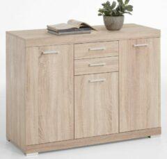 FD Furniture Dressoir Bristol 3 XL van 120 cm breed in eiken