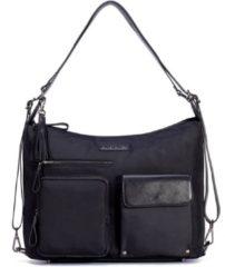 Zilveren Supercute - 4 in 1 Luiertas - Smartbag - Zwart - Antraciet
