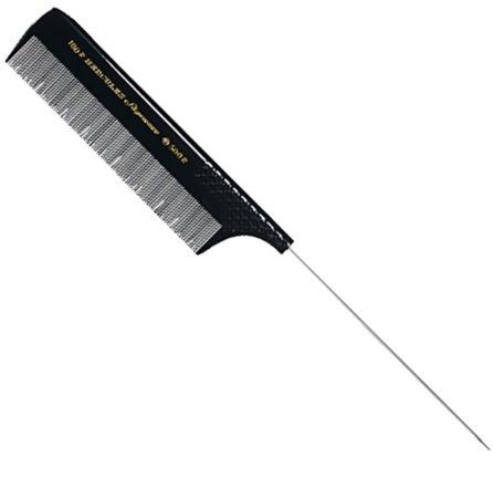 Afbeelding van Ovrige Maerker Hercules Tip Comb Black Rubber With Metal Tip
