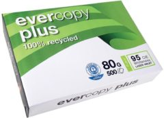 Clairefontaine Evercopy+ Gerecycled printpapier DIN A4 80 g/m² 500 vellen Wit