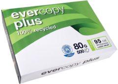 Witte Clairefontaine Evercopy kopieerpapier Plus formaat A4 80 g pak van 500 vel