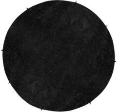 Zwarte VirtuFit Trampolinehoes - Universele Beschermhoes - 183 cm
