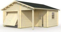 Palmako Roger 21,9 m² Garage mit Sektionaltor