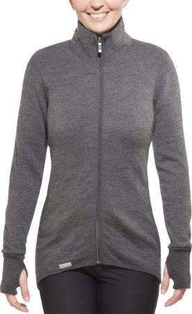 Afbeelding van Licht-grijze Woolpower Full Zip Jacket 400 Middengrijs/Lichtgrijs