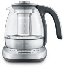 Zilveren Sage Smart Tea Infuser Compact theemaker STM500CLR
