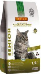 4x Biofood Kattenvoer Senior 1,5 kg