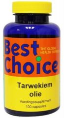 Best Choice Tarwekiemolie Capsules (1 Pot van 100 stk)