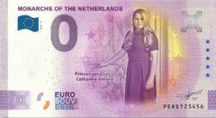 Paarse 0 Euro Biljet 2020 - Vorsten van Nederland - Prinses van Oranje Amalia