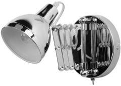 Zilveren Beliani HARRINGTON - Wandlamp - - Staal