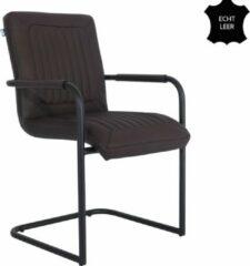 Donkerbruine Feel Furniture - Seal stoel - Donker Bruin