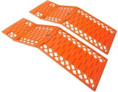 Oranje Pro+ ProPlus opvouwbare anti-slip mat (set van 2) 360835