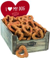 Trixie Denta Fun Chicken Heart - Hondensnacks - Kip 70 g