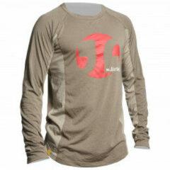 Dirtlej - Mountee - Fietsshirt maat L, grijs/beige