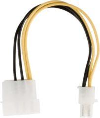 Gele Valueline VLCP74340V015 electriciteitssnoer