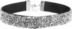 Yada Choker - Ultimate Glam - Strass stenen - Zilver