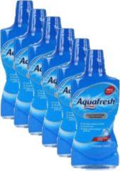Aquafresh Mondwater Fresh Mint - Voordeelverpakking 6 x 500 ml