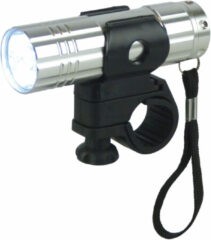 Grijze Dyto - Koplamp - Zaklamp - 9 LED - Batterij - Grijs