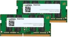 Mushkin Arbeitsspeicher SO-DIMM 16 GB DDR4-2400 Kit