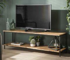 Zaloni Tv-meubel Edge 150 cm breed in acacia naturel