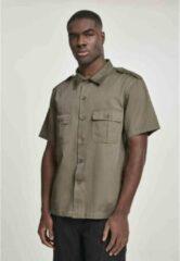 Urban Classics Overhemd -XL- US Hemd 1/2 Groen
