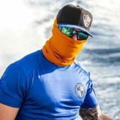 Oranje SA Company Faceshield - Bandana - Nekwarmer - One size - Mondkapje - Tactical Orange
