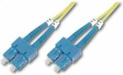 Digitus DK-2922-01 Glasvezel kabel 1 m SC Geel