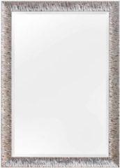Verno.com KunstSpiegel Kaapstad - Spiegel - Hout - 100x70 cm - Zilver