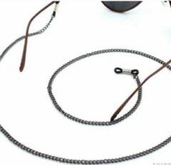 Charme Bijoux Brillenketting- Zwart- Metaal