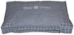 Hundekissen Paw Prints HTI-Line Grau