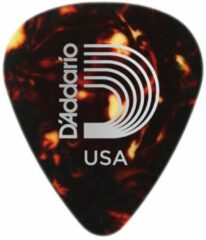 D'Addario 1CSH6-10 shell color celluloid plectra 10 pack heavy