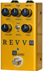 Revv G2 Pedal Gold Limited Edition overdrive effectpedaal