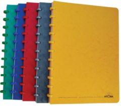 Atoma patroonschrift formaat 21 x 297 cm (A4) 100 bladzijden gelijnd