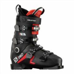 Zwarte Salomon S Pro 90 408 739 heren skischoenen