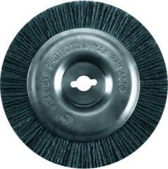 Grijze Einhell Borstel Nylon - Diameter borstel: Ø100 mm - Geschikt voor BG-EG 1410, GC-EG 1410, GE-CC 18 Li SOLO en GE-CC 18 Li KIT