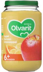 Olvarit Appel Banaan Sinaasappel 6+ Maanden (1 Potje van 200g)