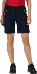 Regatta - Women's Xert III Stretch Walking Shorts - Outdoorbroek - Vrouwen - Maat 36 - Blauw