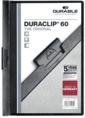Durable Klemmmappe DURACLIP 60 - 2209 220901 DIN A4 Zwart
