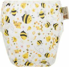 HappyBear - Zwemluier Bijen   0-3 jaar - Wasbaar - Onesize