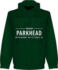 Donkergroene Retake Celtic Parkhead Coördinaten Hoodie - Groen - S