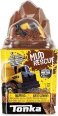 Zandkleurige Tonka - Metal Movers Mud Rescue Play Set