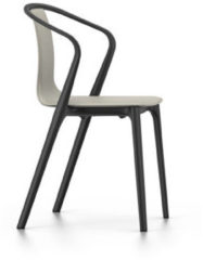 Vitra Belleville Chair mit Armlehnen - Leder ton